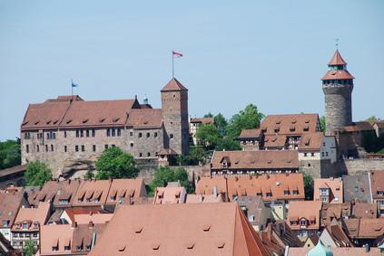 Nürnberger Burg Kaiserburg Sinwellturm Heidenturm